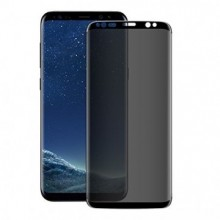 Folie de sticla 5D Samsung Galaxy S9, Privacy Glass, folie securizata duritate 9H