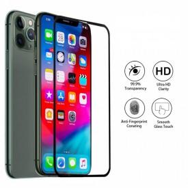 Folie de sticla Apple iPhone 11 PRO MAX, MyStyle 5D FULL GLUE Negru