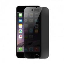 Folie de sticla Apple iPhone 8 Plus, Privacy Glass case friendly, folie securizata duritate 9H
