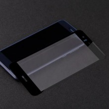 Folie de sticla Huawei P10 Lite, Elegance Luxury cu margini colorate Black