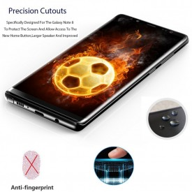 Folie de sticla Samsung Galaxy Note 9, Privacy Glass, folie securizata duritate 9H