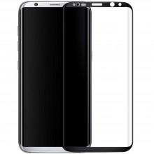 Folie de sticla Samsung Galaxy S8 Plus, Elegance Luxury margini curbate colorate Black