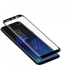 Folie de sticla Samsung Galaxy S8 Plus FULL GLUE cu margini negre Elegance Luxury