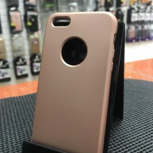 Husa Apple iPhone 5/5S/SE, MyStyle slim antisoc Rose-Gold