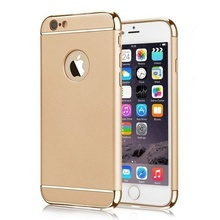 Husa Apple iPhone 6/6S, Elegance Luxury 3in1 Gold