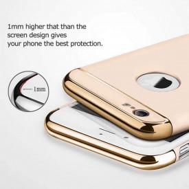 Husa Apple iPhone 7, Elegance Luxury 3in1 Ring Gold