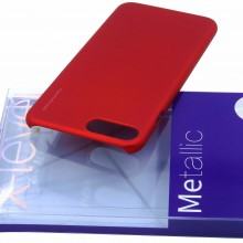 Husa Apple iPhone 7, Elegance Luxury X-LEVEL Metalic Red