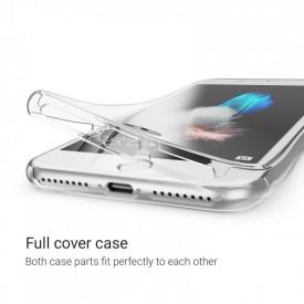 Husa Apple iPhone 7 Plus, FullBody ultra slim TPU , acoperire completa 360 grade