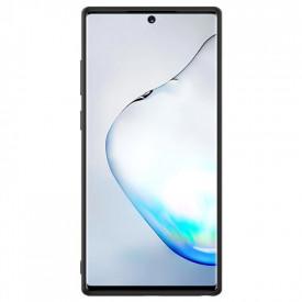 Husa pentru Samsung Galaxy Note 10, Perfect Fit, cu insertii de carbon, negru