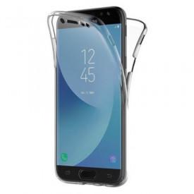 Husa Samsung Galaxy J7 2017, FullBody Elegance Luxury 360º ultra slim TPU, acoperire fata spate