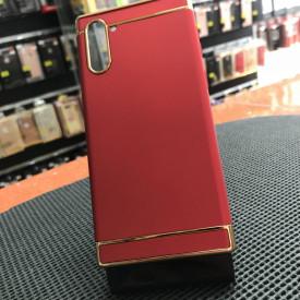 Husa Samsung Galaxy Note 10 Plus , Elegance Luxury 3in1 Rosu