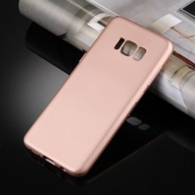 Husa Samsung Galaxy S8, slim antisoc Rose-Gold