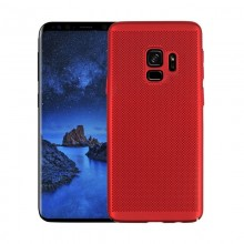 Husa Samsung Galaxy S9, Elegance Luxury Mesh Red
