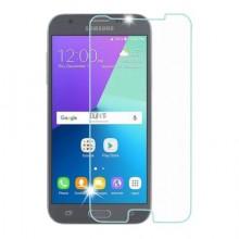Pachet husa Elegance Luxury slim transparenta pentru Samsung Galaxy J3 2017 cu folie de sticla gratis