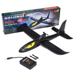 Avion Planor Dark Elves Avion planor din spuma cu elice si acumulator