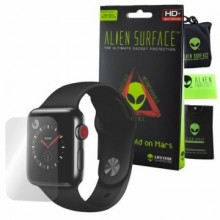 FOLIE ALIEN SURFACE HD, APPLE WATCH 42MM, PROTECTIE ECRAN + ALIEN FIBER CADOU