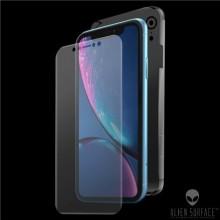 FOLIE ALIEN SURFACE HD, iPhone XR, PROTECTIE FATA,SPATE,LATERALE + ALIEN FIBER CADOU