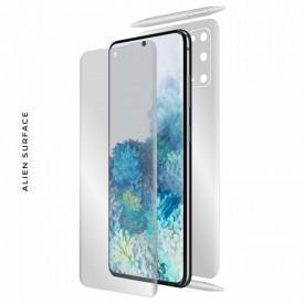 Folie Alien Surface HD, Samsung GALAXY S20 fata, spate, laterale + Alien Fiber Cadou
