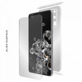 Folie Alien Surface HD, Samsung GALAXY S20 Ultra fata, spate, laterale + Alien Fiber Cadou