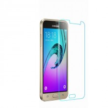Folie de sticla case friendly Samsung Galaxy J3 2016, Elegande Luxury Transparent