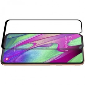 Folie de sticla Samsung Galaxy A40, 3D FULL GLUE Negru