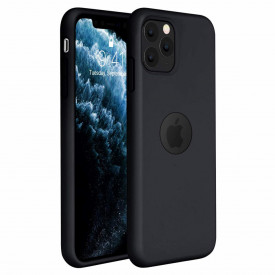 Husa Apple iPhone 11 PRO, Elegance Luxury, Silicon TPU Slim Antisoc NEGRU