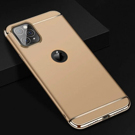 Husa Apple iPhone 11 PRO MAX, Elegance Luxury 3in1 Gold