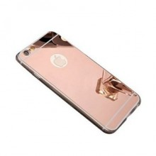 Husa Apple iPhone 6/6S, tip oglinda Rose-Gold