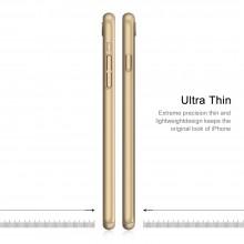 Husa Apple iPhone 6 Plus/6S Plus, FullBody Elegance Luxury Gold, acoperire completa 360 grade cu folie de sticla gratis