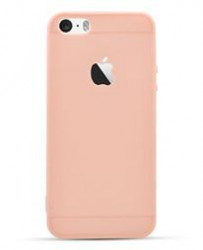 Husa Apple iPhone 7 Plus, Elegance Luxury Rose-Gold, Silicon TPU Antisoc cu decupaj logo