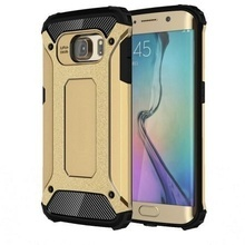 Husa Elegance Luxury armour strong Gold pentru Samsung Galaxy S6
