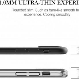 Husa Kingxbar pentru Apple iPhone X design Cristale Swarovski - Silver