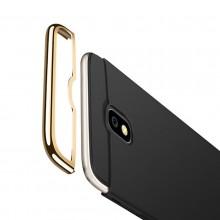 Husa Samsung Galaxy J5 2017, Elegance Luxury 3in1 Negru