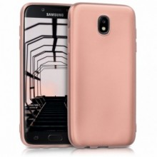 Husa Samsung Galaxy J7 2017, slim antisoc Rose-Gold