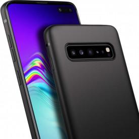 Husa Samsung Galaxy S10, slim antisoc Negru