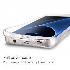 Husa Samsung Galaxy S7 Edge, FullBody ultra slim TPU , acoperire completa 360 grade