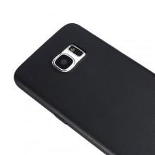 Husa Samsung Galaxy S7 Edge, slim antisoc Black