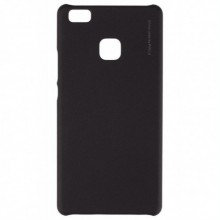 Pachet husa Elegance Luxury X-LEVEL Metalic Black pentru Huawei P10 Lite cu folie de protectie gratis
