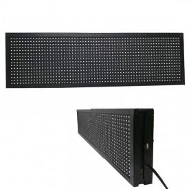Panou Led de Exterior Programabil/Reclama Luminoasa 130x20 ROSU