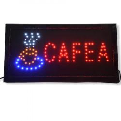 Reclama Text LED - Cafea / animatie luminoasa dinamica NOU