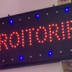 Reclama Text LED - Croitorie / animatie luminoasa dinamica NOU