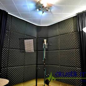 Burete acustic & izolator fonic pentru Studio / Home Cinema 100x100x3 cm