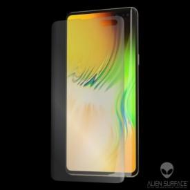 Folie Alien Surface HD, Samsung GALAXY S10, protectie ecran + Alien Fiber Cadou