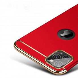 Husa Apple iPhone 11 PRO, Elegance Luxury 3in1 Rosu
