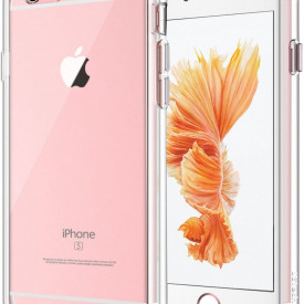 Husa Apple iPhone 6/6S, Silicon TPU 2.0mm slim Transparenta