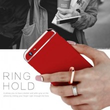 Husa Apple iPhone 6 Plus/6S Plus, Elegance Luxury 3in1 Ring Red