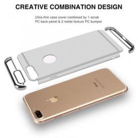 Husa Apple iPhone 6 Plus/6S Plus, Elegance Luxury 3in1 Silver