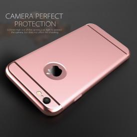 Husa Apple iPhone 7, Elegance Luxury 3in1 Rose-Gold
