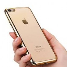 Husa Apple iPhone 7 Plus, Elegance Luxury placata Auriu (ELECTROPLATING GOLD)