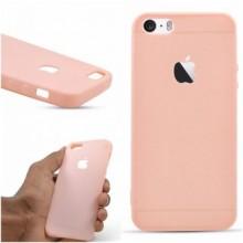 Husa Apple iPhone 8, Elegance Luxury Rose-Gold, Silicon TPU Antisoc cu decupaj logo